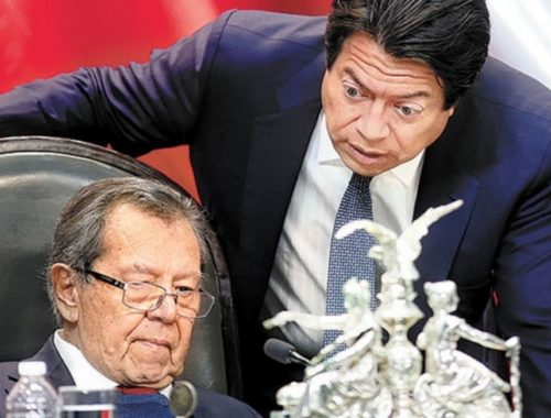 Porfirio Muñoz Ledo y Mario Delgado