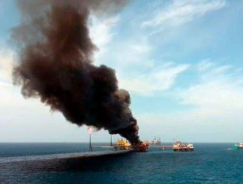 Explosión en Pemex