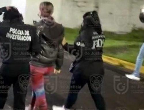 Youtuber detenida